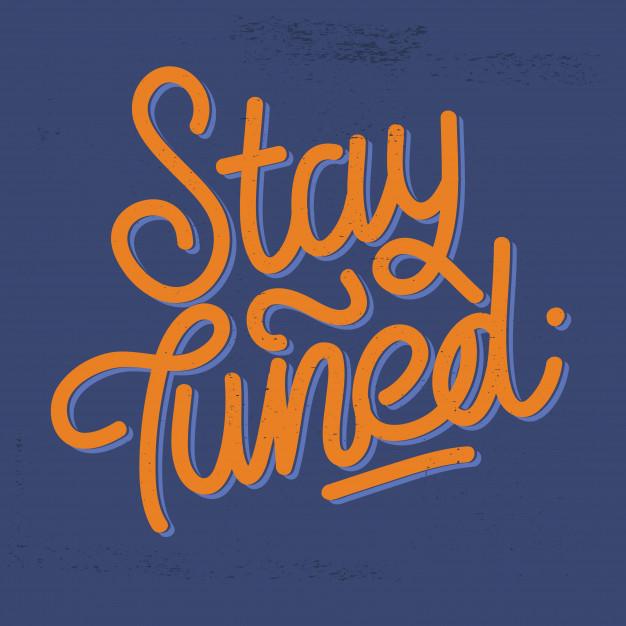 stay-tuned-vintage-lettering-distressed-background-script_204219-40 Tipografia & Serigrafia
